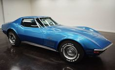 1971 Chevrolet Corvette Matching Numbers :Turbo 400 automatic transmission with 2 doors and blue on the inside and the outside as well, of 3,122,000 and a 350 V8 engine with 15-inch wheels; Numbers wine used: 194371S104508 and with matching numbers.  This vehicle is available for sale, contact us on: www.misterdeals.com / or call us at: 08-05-08-02-81 if you are interested in this vehicle.   Our prices are 16.499 euros