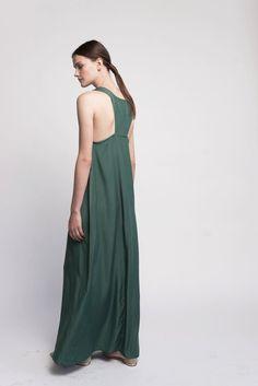 Evening Dress Maxi Dress Wedding Guest Dress by Lennyfashion