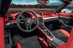 2016 Porsche Boxster Spyder: First Drive - Autoweb Boxster Spyder, Porsche 718 Boxster, Sports Car Price, Cool Sports Cars, Porsche Sports Car, Porsche Cars, Cayman S, First Drive, Car Prices