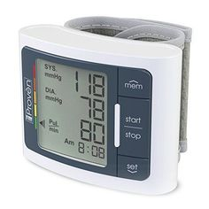 Wrist Blood Pressure Monitor Pulse Automatic FDA Approved Clinically Accurate  #WristBloodPressureMonitor