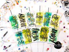 Handlettering, Brushlettering, Watercolour, Aquarell, Watercolourlettering, Geburtstag, Birthday, Geldgeschenke