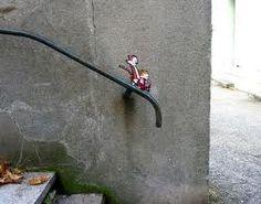 funny street art OAKOAK