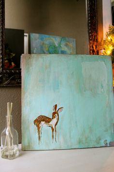 Baby Deer Painting