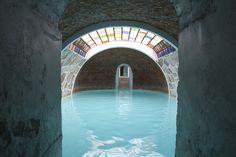 Hot springs in San Miguel de Allende.