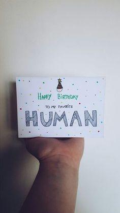 Handmade Birthday Card for my boyfriend