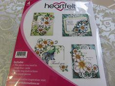 Card Kit Peacock Paisley Heartfelt Creations  by HuckleberryHerbs, $12.99 USD https://www.zibbet.com/huckleberryherbs