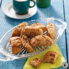 ΚΑΛΟΡΙΖΙΚΑ ΠΑΞΙΜΑΔΑΚΙΑ Greek Sweets, Greek Recipes, French Toast, Almond, Muffin, Cookies, Breakfast, Cake, Desserts