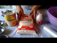 Docinhos Modelados de Leite ninho - Receita - YouTube