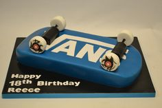 21 Great Photo of Birthday Cakes Birthday Cakes Skateboard Cake Boys Birthday Cakes Celebration Cakes Cakeology 3d Birthday Cake, Birthday Cakes For Teens, Birthday Cake Decorating, Boy Birthday Parties, 11th Birthday, Unicorn Birthday, Happy Birthday, Teen Cakes, Cakes For Boys
