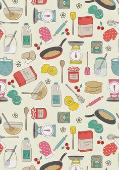Emily Kiddy: Shrove Tuesday - Pancake Day Print