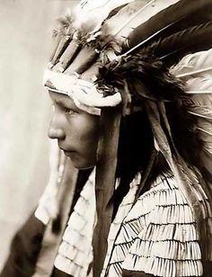 Edward Curtis image. Cheyenne girl.