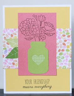 CTMH Craftings: Candlelight Garden S1512: CTMH Stamp of the Month Australasian Blog Hop
