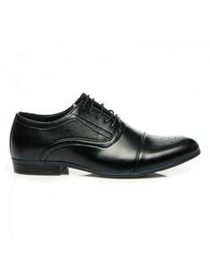elegantes zapatos negro