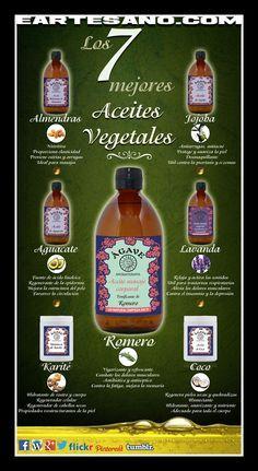 Los 7 Mejores Aceites Vegetales