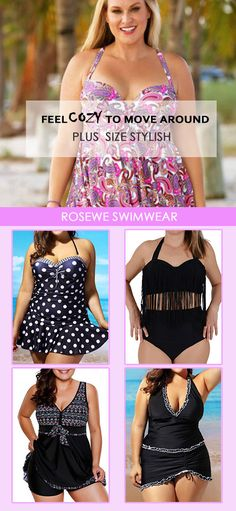 Cute plus size swimwear for women at Rosewe.com, free shipping worldwide, check them out.