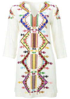 Embellished Smock Dress - $150: Kate Moss for Topshop | Boca Raton Magazine