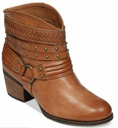 f83dcc39f26 Jessicia Simpson Currie Booties - Sienna Brown Boot Jewelry