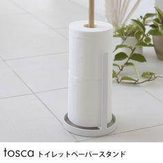 tosca トイレットペーパースタンド /トイレットペーパーホルダー/トイレットペーパー/収納/ストッカー/スタンド/トイレ/木製/北欧/ナチュラル/おしゃれ/