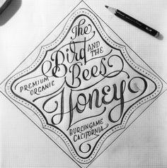 The Birds and the Bees by James T. Edmondson (www.jamestedmondson.com) via The Daily Glyph (thedailyglyph.com)