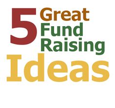 The Family Reunion Planners Blog: 5 Great Fund Raising Ideas and ways to make use of the fundraising tools at http://fundraising.myevent.com/?affID=31409