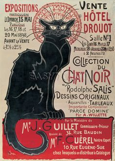 Collection du Chat Noir - Theophile-Alexandre Steinlen Posters - Easyart.com