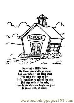 nursery rhyme coloring pages - Google Search