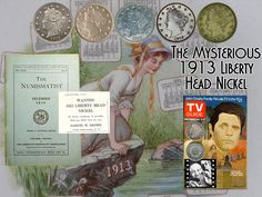 """Did You Know... The Mysterious 1913 Liberty Head Nickel was produced in extremely limited quantities (only 5) without the authority of the U.S. Mint. Samuel Brown had been a Mint employee in 1913, it's speculated he is responsible for striking the coins himself and then removing them from the Mint. He placed an advertisement in The Numismatist in December 1919 offering to pay $500 for each coin as a cover. The Nickel was featured in a 1973 episode of Hawaii Five-O"""" titled """"The $100,000…"""