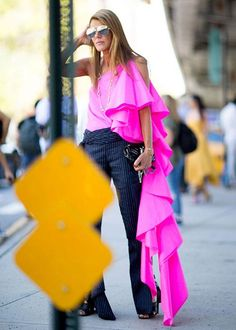 New York Fashion Week street style - Elle Canada                                                                                                                                                      More