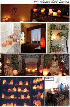 Casa Cravings: Himalayan Salt Lamps - I want lots and lots of salt lamps