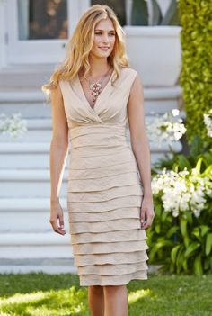 Deluxe By Lts: Shimmer Shutter Dress at Long Tall Sally, your number one fashion retailer for tall women's clothing Clothing For Tall Women, Clothes For Women, Women's Clothing, Beach Wedding Attire, Wedding Dresses, Bride Dresses, Party Gowns, Party Dress, Fashion Over Fifty
