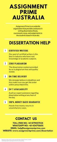 How to write a perfect dissertation