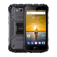 Preorder Ulephone Armor 2 Android Phone - Android Helio CPU, RAM, FHD, Dual-IMEI, (Gray) - Ulephone Armor 2 is a powerful Android phone that features the MediaTek Helio CPU and RAM. It has an waterproof body. Iphone 5c, Iphone 7 Plus, Apple Iphone, Smartphone Price, Best Smartphone, Mobiles, Quad, Phone Projector, Mobile Phone Price