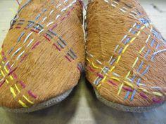 Barkcloth Shoes by Jenny Bullen