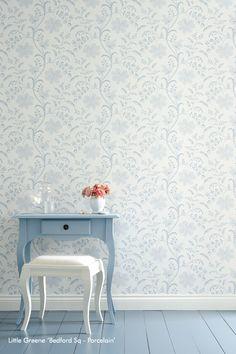 Little Greene | Biggelaar | Wallpaper | Interieur | Wonen | Behang | Interieur - Verf & Wand
