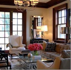 elegant living room  #Home #Decor & #Design via Christina Khandan IrvineHomeBlog Irvine, California ༺༺  ℭƘ ༻༻