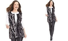 Style&co. Marbled Faux-Fur Vest | Macy's
