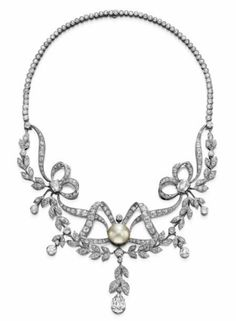Belle epoque necklace c1910 - Necklaces - AJU