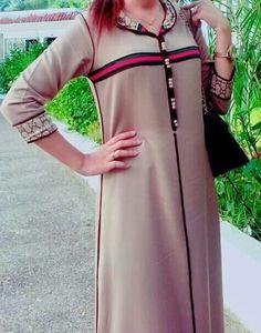 جلابة Caftan Dress, Dress Skirt, Abaya Fashion, Fashion Dresses, Morrocan Dress, Mode Abaya, Girl Fashion Style, Stylish Dress Designs, Russian Fashion