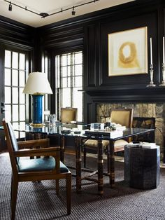 Attracting Money: Set Up a Sophisticated Home Office - 19 Feng Shui Secrets to Attract Love and Money on HGTV