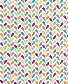 If By Air - Leaves, Custom fabric by ttoz on Spoonflower - custom fabric