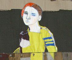 Jylian's Stitched Artwork