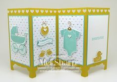 SUO Something For Baby Screen Divider by stampinandstuff - Cards and Paper Crafts at Splitcoaststampers