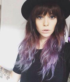 Color ombre purple