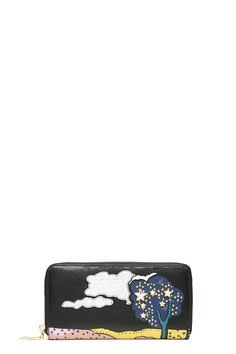 The Marc Jacobs Cartoon Leather Continental Wallet