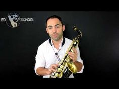 Definitive Altissimo Fingerings for Alto Sax with George Michael's sax player, Ed Barker - YouTube