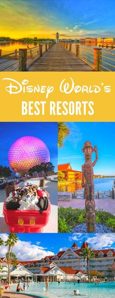 We have photo reviews of every luxury Disney World and Orlando resort to help you pick the best Disney resort that's right for your family and budget, both Disney resorts and off site hotels in the Orlando area.