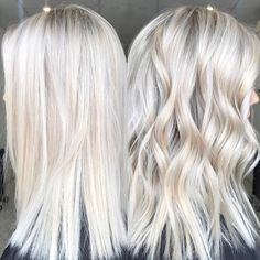 20 hairstyle tips: how to get the perfect ash blonde hair color . - 20 hairstyle tips: how to get the perfect ash blonde hair color … - Blonde Hair Shades, Blonde Hair Looks, Light Blonde Hair, Icy Blonde, Platinum Blonde Hair, Blonde Color, Ash Blonde Hair With Highlights, Cream Blonde Hair, White Blonde
