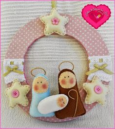 "Nativity ""Wreath"""