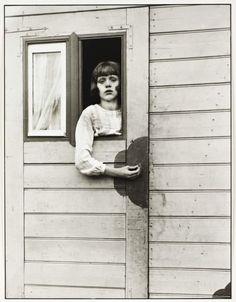 Young Girl in Circus Caravan, August Sander, 1926