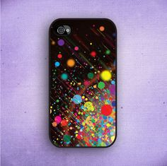 Color Splash iPhone 5 Case iPhone 4 Case iPhone 4s by CaseOddity, $15.99
